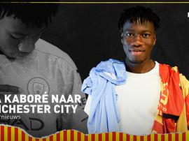 Issa Kaboré nuevo jugador del Manchester City. Twitter/kvmechelen