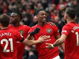 United s'offre le nouveau Haaland. Twitter/ManUtd_Es