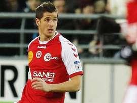 Anthony Weber, nuevo jugador del Stade Brestois. StadeBrestois29