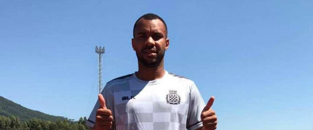 Róbson Januário de Paula, nuevo jugador de Boavista. BoavistaFC
