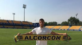 Gonzalo Guijarro, nuevo jugador del Alcorcón. ADAlcorcón