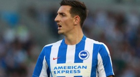 Hughton believes Lewis Dunk is worthy of an England call-up. BrightonFC