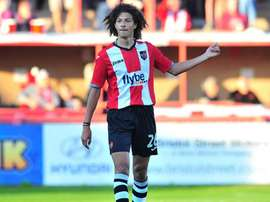 Ampadu played 13 times for Exeter City last season. ExeterCityFC