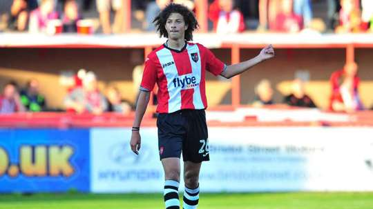 Ampadu played 13 times for Exeter City last season. ExeterCityFC