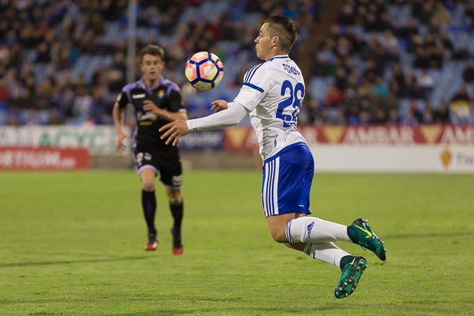 Pombo fue el autor del único gol. RealZaragoza