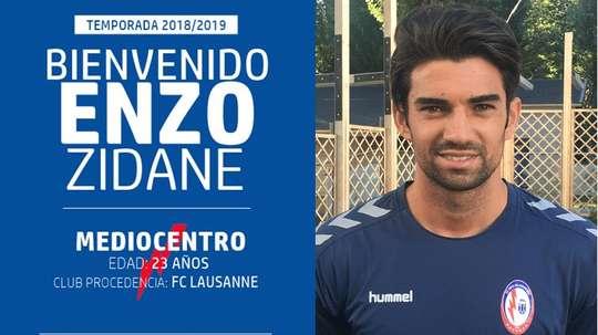 Enzo Zidane jugará en Segunda División. CFRayoMajadahonda