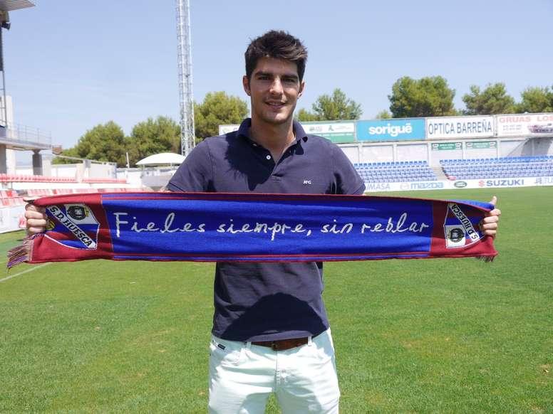 Melero affrontera le Barça B. SDHuesca