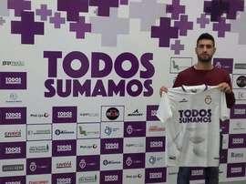 Mario Martos está de vuelta con el club andaluz. Twitter/RealJaénCF