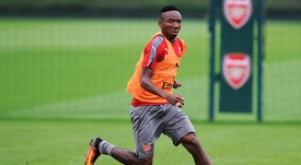 Nwakali has joined Porto on loan for the season. ArsenalFC