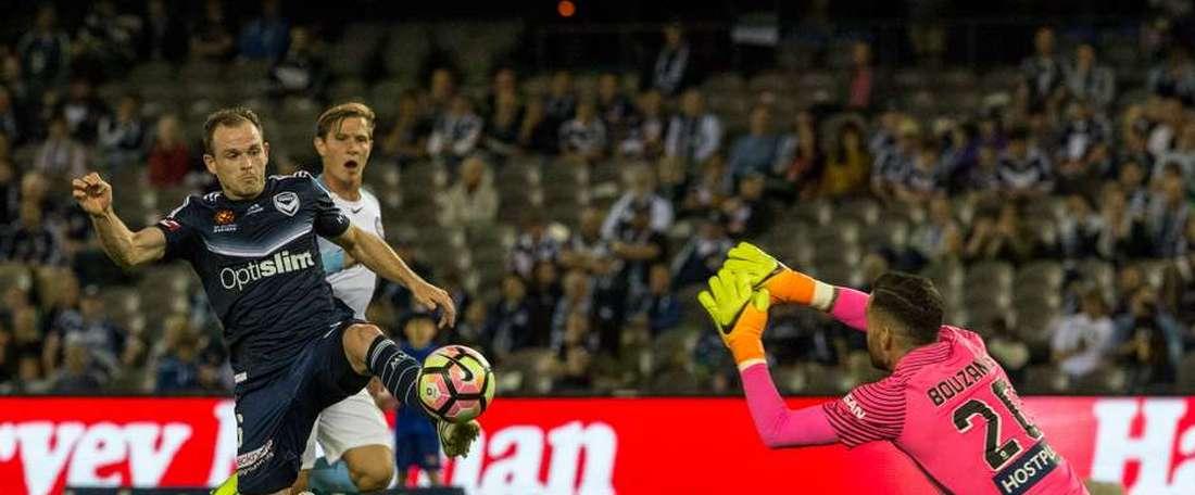 El Melbourne Victory contará con un nuevo jugador en calidad de cedido. MelbourneVictory