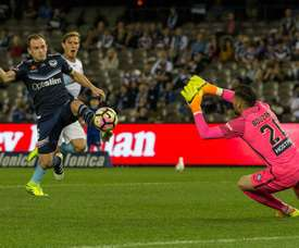 Bonevacia shocks Melbourne Victory. MelbourneVictory