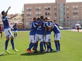 El Melilla venció por 3-0 ante el Córdoba B. UDMelilla