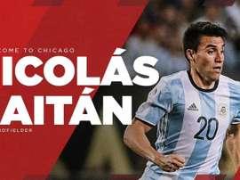 Chicago Fire, le nouveau club de Nico Gaitán. ChicagoFire