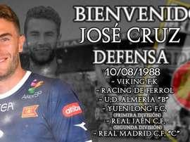 José Cruz ya es del Mérida. Mérida