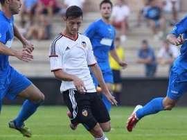 El Mestalla y el Llosetense se medirán en la primera jornada de Segunda B. Twitter.