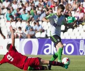 El Mirandés derrotó 0-1 al Racing en El Sardinero. RealRacingClub