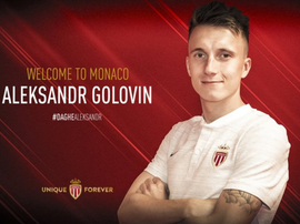 Golovin, nuevo jugador del Mónaco. ASMonaco