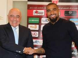 Boateng, rumbo a la Serie B. monzacalcio