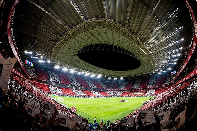 This is San Mamés. Twitter/AthleticClub
