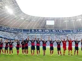 La inusual condena a unos aficionados del Münich 1860 por agredir a un hincha del Bayern. Twitter