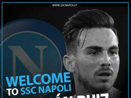 Fabian has made the switch to Napoli. Twitter/sscnapoli