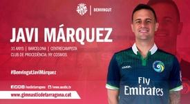 Javi Márquez es nuevo jugador del Nàstic. Nàstic