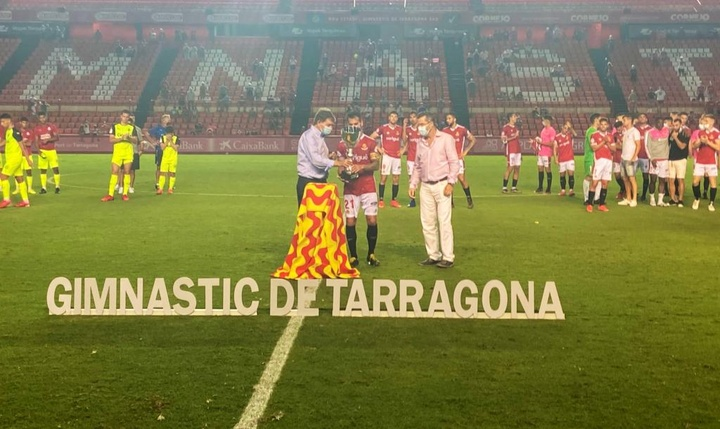 El Nàstic de Tarragona supera al Girona en el derbi amistoso. Twitter/NasticTarragona
