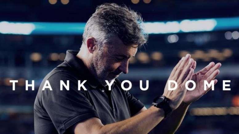 El club agradeció a Domènec su labor. NYCFC