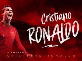 El Nimes anuncia el falso fichaje de Cristiano tras su marcha del Real Madrid. Twitter/NimesOlympiq