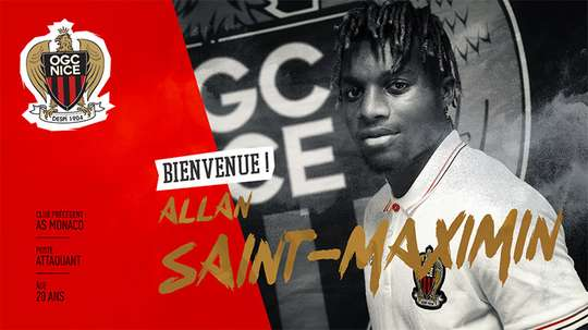 El Niza ha cerrado la incorporación de Saint-Maximin. OGCNice