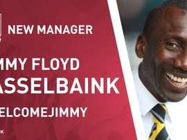 Jimmy Hasselbaink dirigirá al Northampton Town. Twitter/NTFC