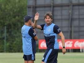 Vélez ya empezó a entrenar con Vélez. Vélez