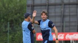 Gabriel Heinze no tiene su continuidad garantizada en Vélez. VelezSarsfield