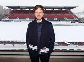 Mista, nouvel entraineur de l'Atlético Ottawa, antenne du club 'colchonero'. Twitter/Atleti_Ottawa