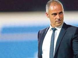 El nuevo entrenador del Bani Yas emiratí, José Gomes. BaniYasClub