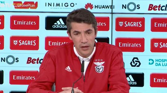 O novo treinador do Benfica, Bruno Lage. SLBenfica