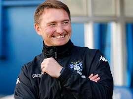 El nuevo entrenador del Bury, Chris Brass. BuryFC