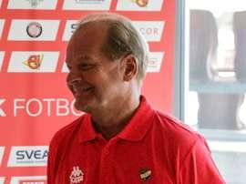 El nuevo entrenador del Helsinki IFK, Antti Muurinen. HIFKFotboll