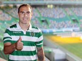 El nuevo fichaje del Sporting de Lisboa, el medio brasileño Bruno César. Sporting