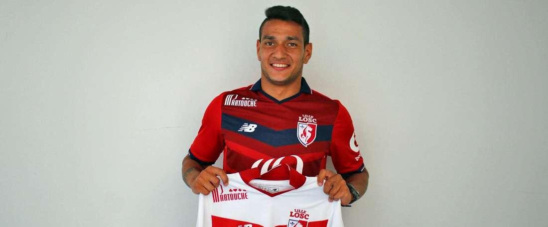 Rony Lopes es uno de los tres fichajes anunciados por el Lille en las últimas horas. LOSC
