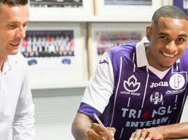 Steven Fortes jugará a partir de esta temporada en el Toulouse. TFC