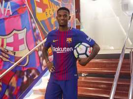 O lateral de 23 anos chegou neste mercado aos 'blaugrana'. FCBarcelona