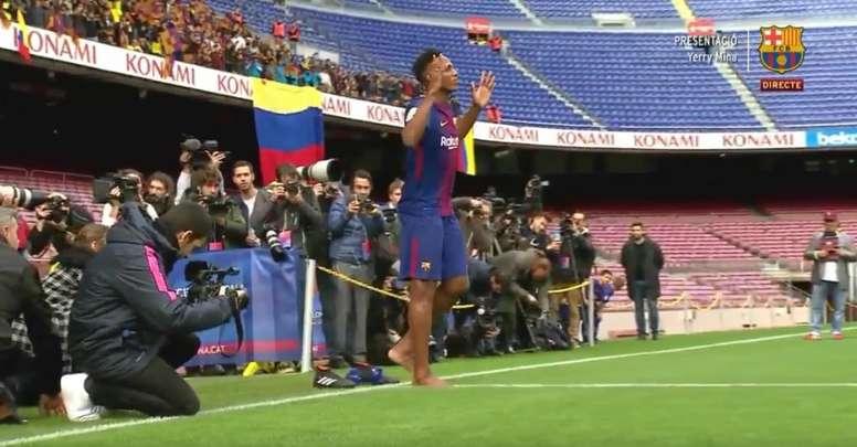 Una imagen que pasará a la historia. FCBarcelona