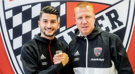 El conjunto alemán anunció la cesión del joven delantero croata. Ingolstadt