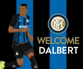 Inter sign Dalbert from Nice. InternazionaleFC
