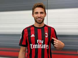 Borini é o novo reforço dos 'rossoneri'. ACMilan