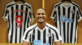 Rondón es la esperanza de la salvación. Newcastle