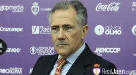El objetivo de Membrado es llevar al Jaén a Primera. RealJaenCFSAD