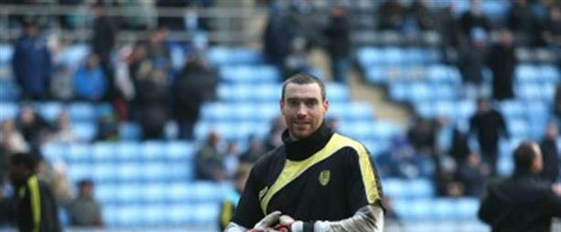 El nuevo portero del Burton Albion Stephen Bywater. BurtonAlbionFC