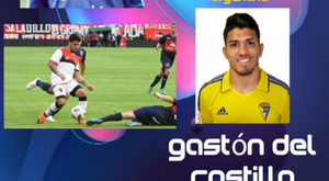 Olivenza contratou o atacante Gastón del Castillo, irmão de Agüero. Twitter/OlivenzaFC